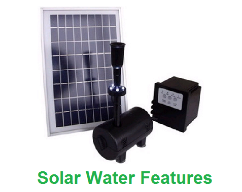 Solar Water Features Specialist