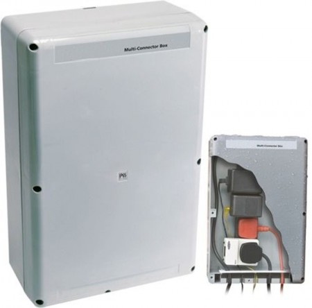 Four Way Outdoor Power Connection Box IP56 For Water Features