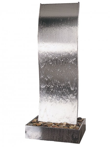 Rapido 4 in Steel Base Water Feature