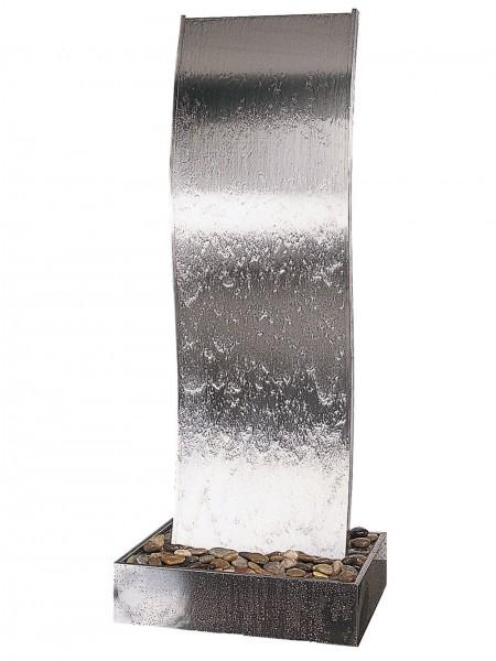 Rapido 4 by Aqua Moda in Steel Base Water Feature