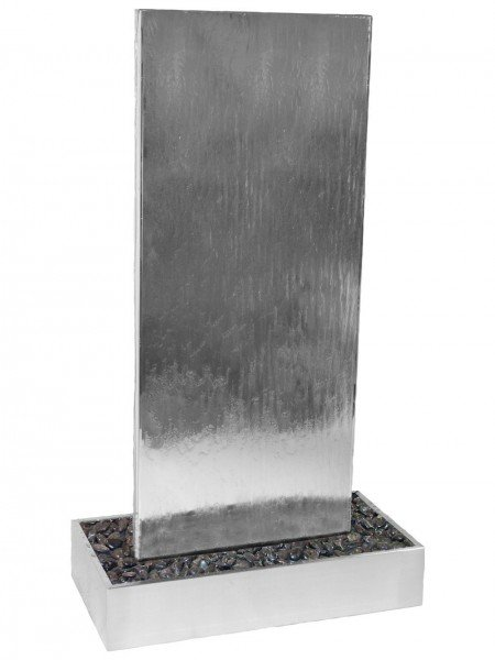 Staffora8 by Aqua Moda in Stainless Steel Base Water Feature