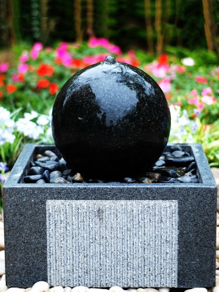 Solar Basento Water Feature
