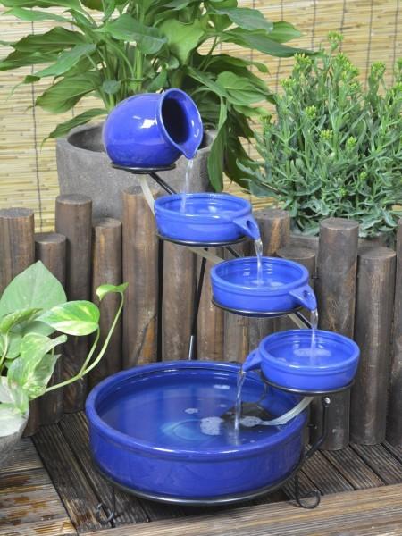 Solar Blue Terracotta Cascade