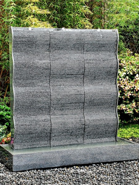 Aqua Moda Granite Rapido 6 with LED Lights Water Feature 150cm Height