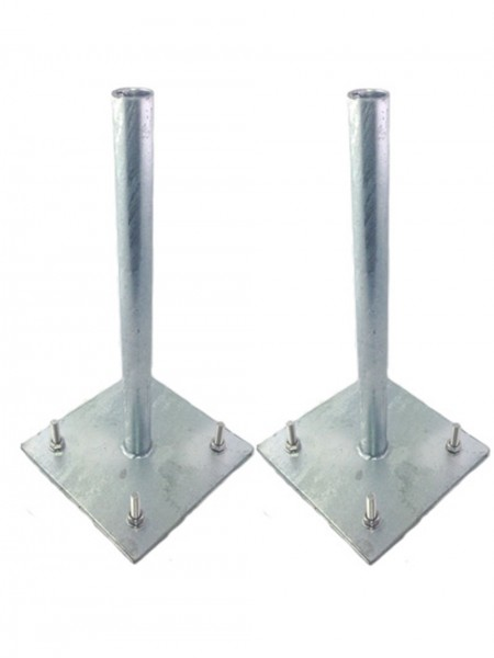 Two High Quality Galvanised Steel Granite safety supports
