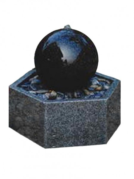 Solar Granite Patio Feature