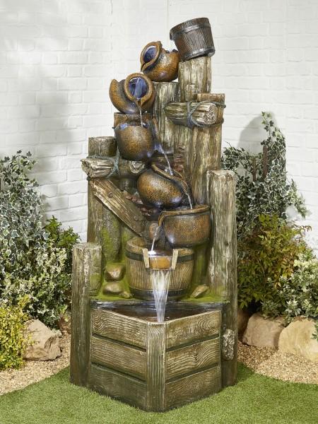 Aztec Spilling Bowls Water Feature