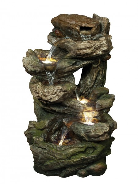 Medium Six Fall Woodland Water Feature