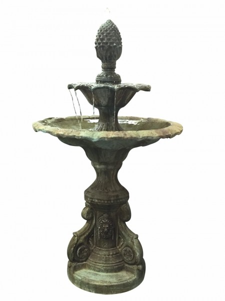 Register Two Tier Fountain Water Feature