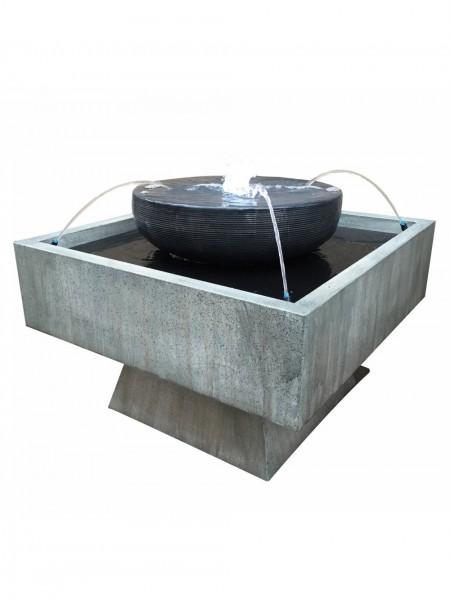 Pescara Zinc Metal Water Feature