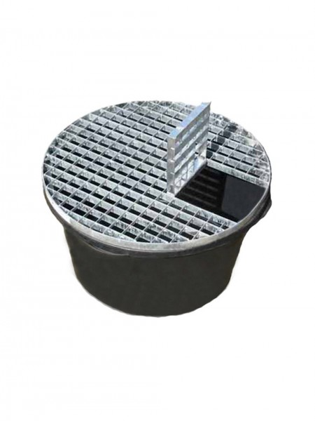 Reinforced Heavy Duty Pebble Pool 66cm Diameter With Galvanised Steel Grid
