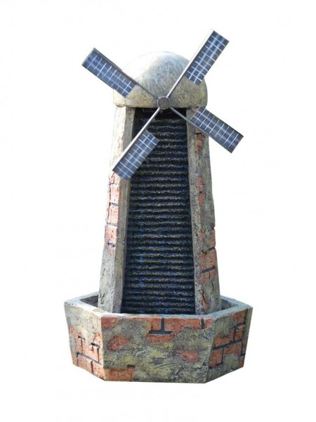 Brick Windmill Water Feature