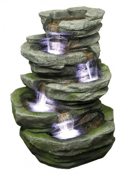 Four Fall Slate Water Feature