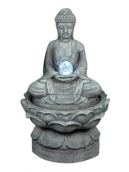 Medium Buddha (Crystal Ball) Water Feature By Aqua Creations - 5060119854333 - PWF1040AA