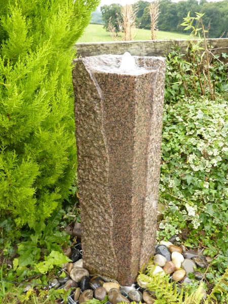Juro Pinky Granite Fountain