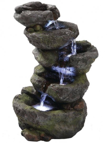 Carolina Rock Falls Water Feature by Aqua Creations