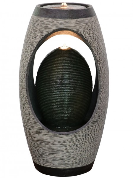 Arlington Ribbed Oval Water Feature by Aqua Creations