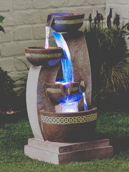 Azure Columns Easy Fountain Water Feature