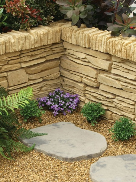 Daleside Walling, Coping or Edging Stone York Gold (48 Pieces)