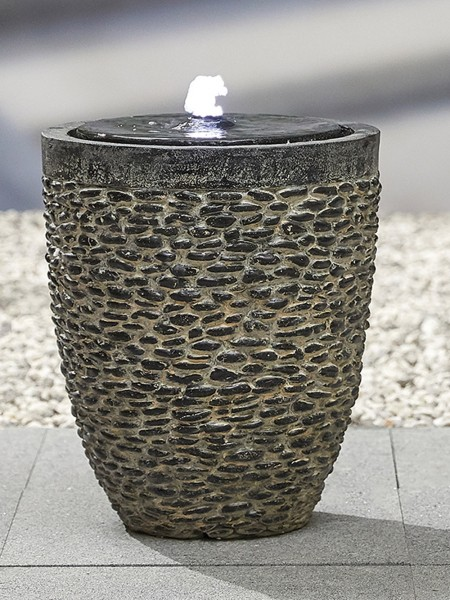 Tumbled Stone Water Feature