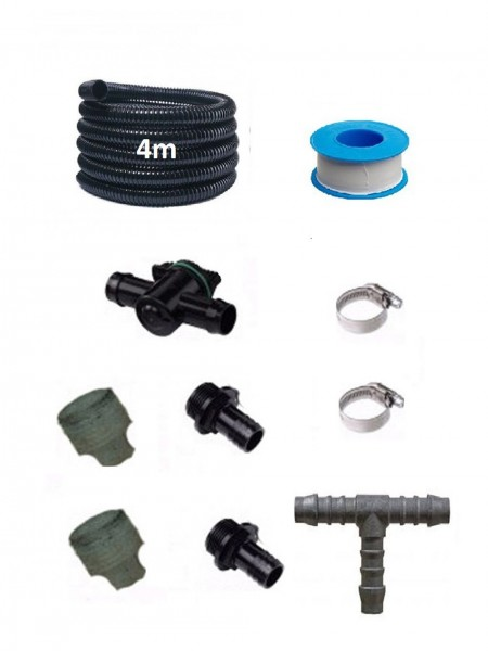 Hose Fitting Kit for 900mm Water Cascade