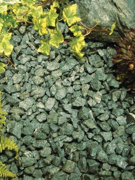 Forest Green Stone Chippings Bulk Bag