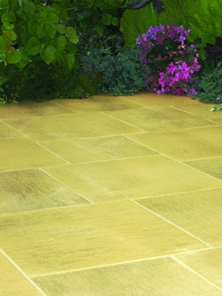 Galaxy Paving Random Patio Kit 7.56 sq mtr York Gold