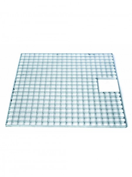 Square Galvanised Steel Grid 100cm Ubbink Garden