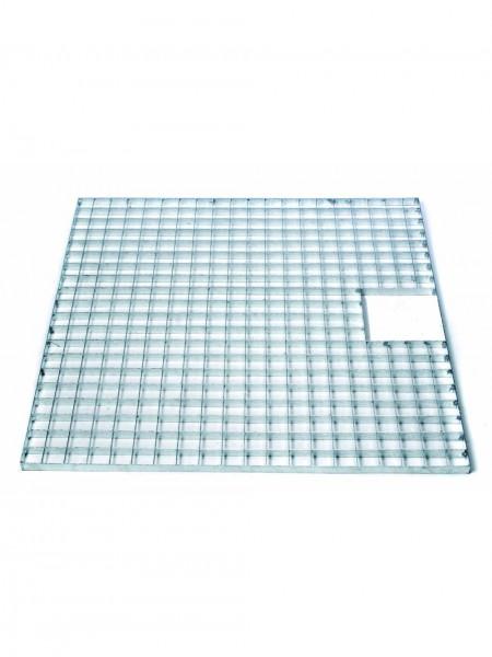 Square Galvanised Steel Grid 60cm Ubbink Garden
