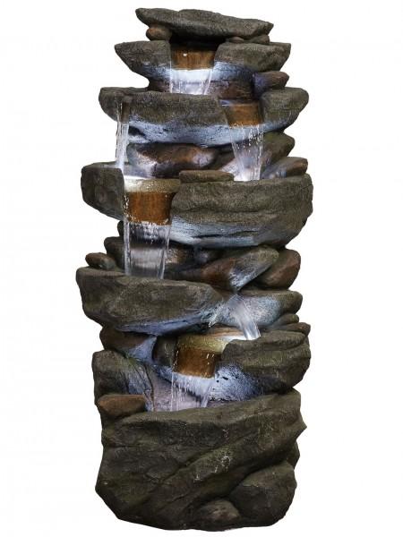 Hammonton Rock Falls Water Feature by Aqua Creations