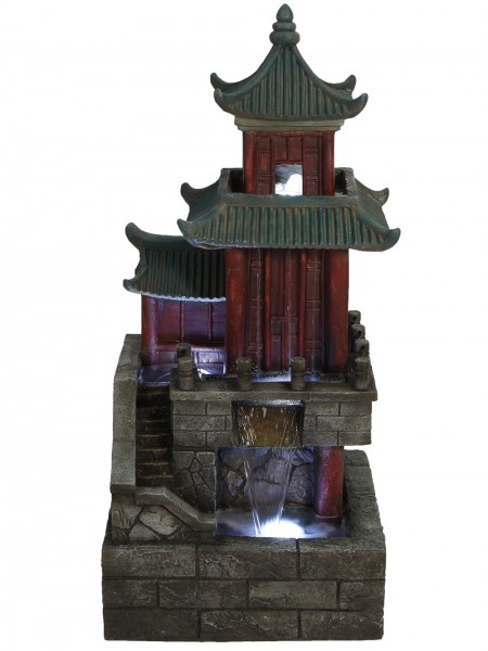 Large Oriental House Water Feature