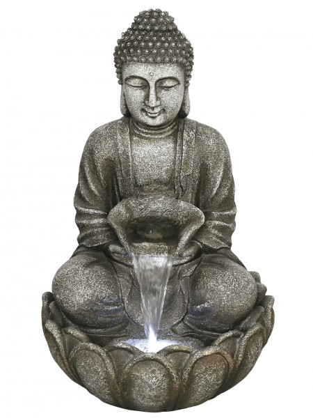 Medium Grey Buddha Water Feature