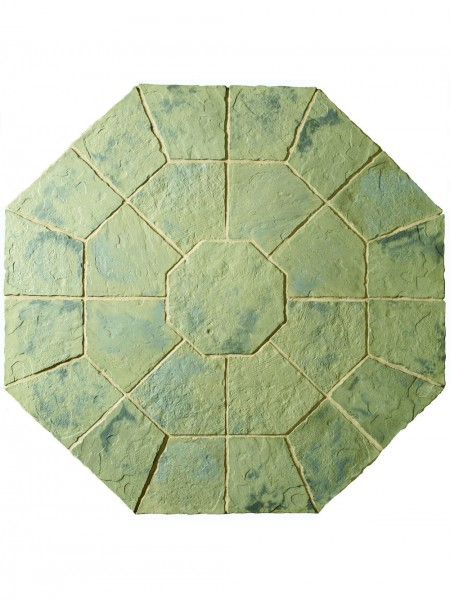 Minster Octagon Kit 2.3m in Rustic Sage