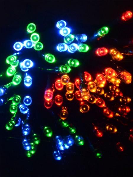 50 Multi-coloured LED Light String