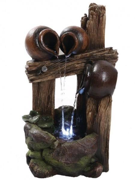 Nebraska Spilling Pots Water Feature by Aqua Creations