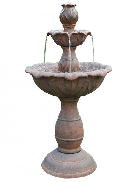 Three Tier Rust Fountain