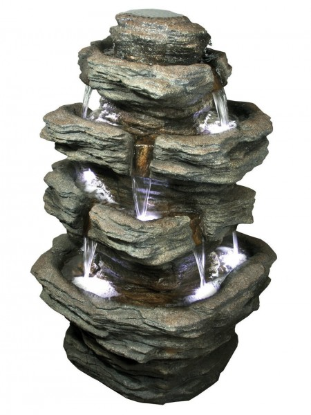Multifall Slate (360 Degrees) Water Feature