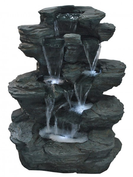 Pine lake Slate Falls Water Feature
