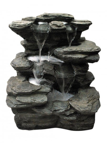 Slate Multi Fall Water Feature