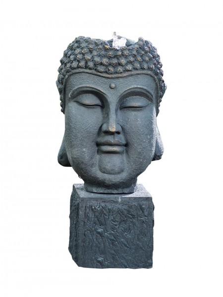 Bubbling Buddha Head Water Feature