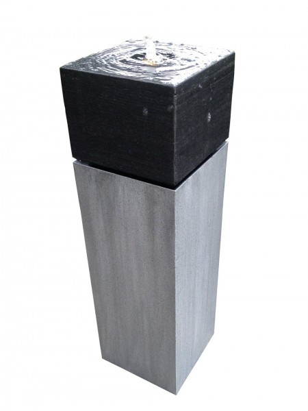 Latina Zinc Metal (granite top) Water Feature
