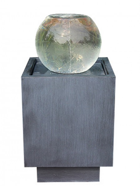 Torino Zinc Metal Water Feature