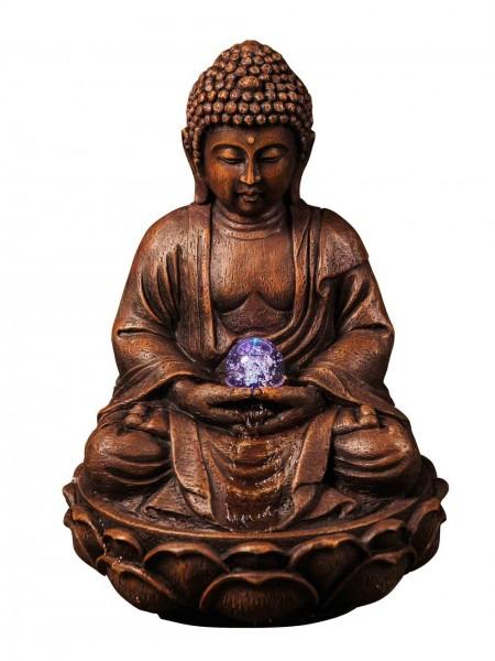 Red Buddha Crystal Ball