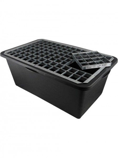 Reinforced Heavy Duty Pebble Pool 79cm x 48cm With Galvanised Steel Grid