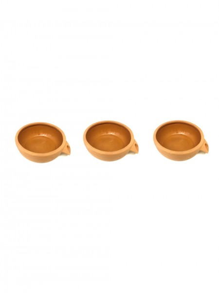 Replacement Terracotta Cascade Small Bowl x Three