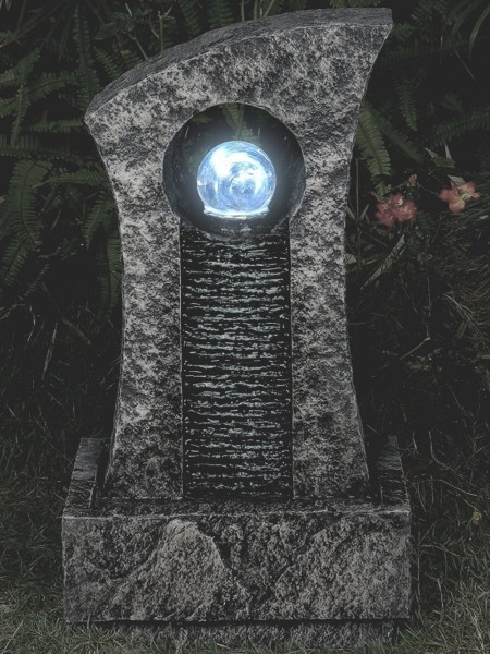 Ripple Effect Crystal Ball Water Feature