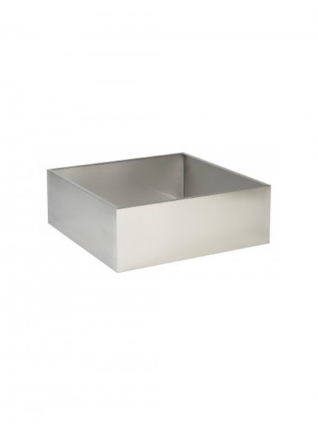 900mm x 900mm x 200mm Square Stainless Steel Base