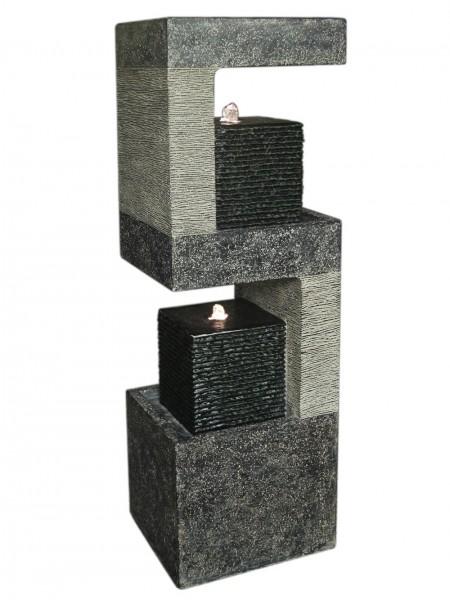 S Shaped Black Columns