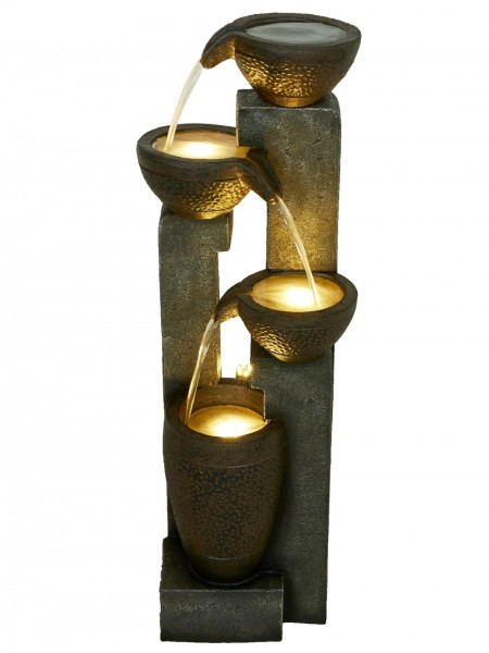 Winchester Pouring Bowls Water Feature by Aqua Creations