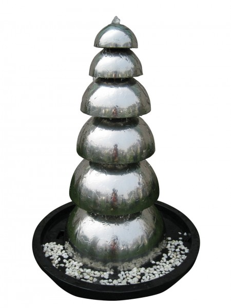 Panama Stainless Steel Fountain Water Feature